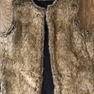 Aldo faux fur vest